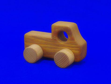 木のおもちゃ(トラック)