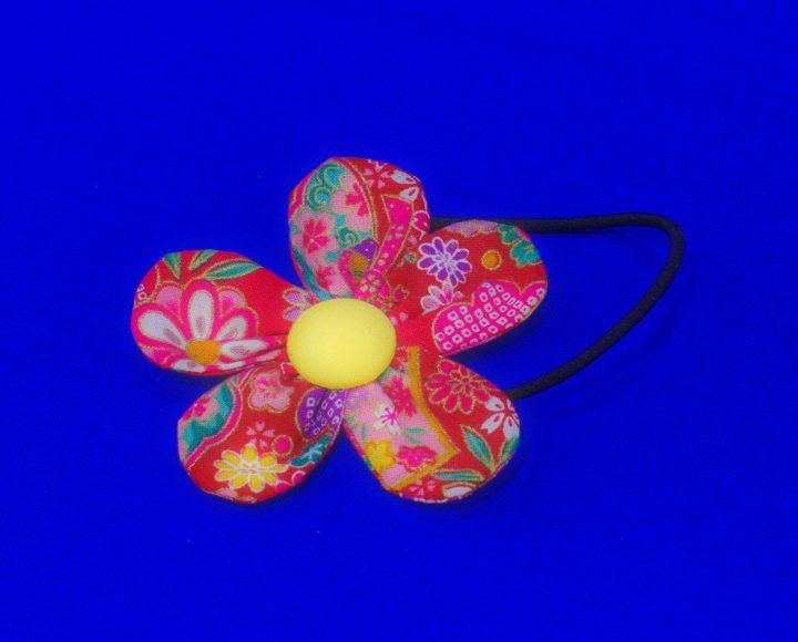 花のヘアーゴム