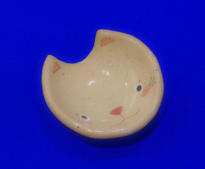 箸置き(猫顔)