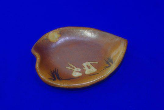 木の葉皿(うさぎ)
